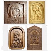 Иконы резные деревянные фото
