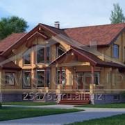 Дом деревянный Валдай фото