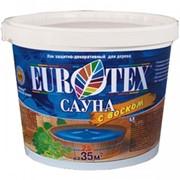 Лак защитно-декоративный EUROTEX Сауна фото