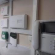 Монтаж систем пожарной сигнализации. фото