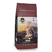 Landor 400г Сухой корм для взрослых кошек живущих в помещении Утка и рис фото
