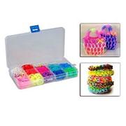 Радужки (Rainbow Loom) - набор для вязания из резинок фото