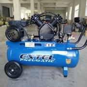 Компрессор Extel 70 литров 2 порш. фото