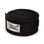 Бинт боксерский Everlast 4465BK 2.5 м черный фото
