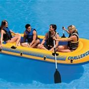 Надувная лодка Intex 68371 Challenger 351*145*48 на 4человека фото