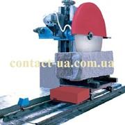 Автоматический станок для распила камня однопильный консольный ZJ-160 фото