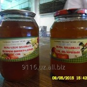 Соки натуральные яблочно-виноградный стекло банка (1 и 3 литровая) фото