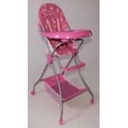 Детский стол-стул для кормления СН-2 розовый фото