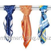 Изготовление корпоративных шарфов фото