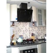 Кухня мдф крашеная радиусная фото