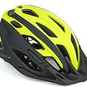 Шлем спортивный 2 козырька Root 173 21отверстие INMOLD/EPS/поликарбонат желто-черный 59-61см AUTHOR фото
