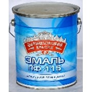 Эмаль голубая ПФ 115 5 кг. фото