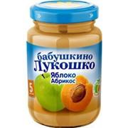 Б.лукошко пюре из яблок и абрикосов с сах (с 5 мес) 200г фото