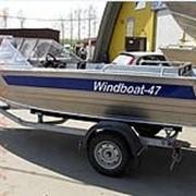 Лодка моторно-гребная WindBoat-47 фото