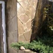 """Камень плоский неправильной формы """"Серо-зеленый"""" фото"""