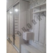 Набор мебели с раздвижными дверями для прихожей фото