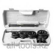 Набор Stayer Professional №3 резьбонарезной трубный в пластмассовом боксе, 1/2 - 1, 4 предмета Код: 28260-H3 фото