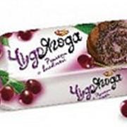 Рулет Чудо ягода бисквитный с вишней, Рот Фронт, 200 гр. фото