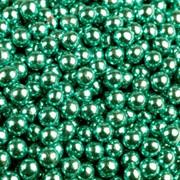 Шарики сахар.голубые 5 мм.металл (100 гр.) фото
