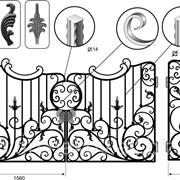Ковка металлов, декор элементы ковка под заказ Николаев, Киев, Одесса фото
