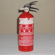 Огнетушители порошковые, модель ОП-1 код 00067 фото