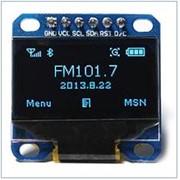 Графічний дисплей LCD OLED 0.96'' 128x64 SPI синій фото