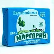 Бутербродный маргарин К кофе 40% брикет фото