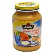 Пюре ХАМЕ 190г сливки абрикос фото