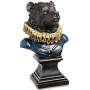 Скульптура Бюст Граф Медведь 31х50х26см. арт.SK-43 фото