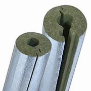 Теплоизоляционные цилиндры из минваты Изошелл ЦФ (плотность 80, толщина 30мм) фото