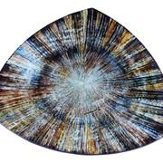 Тарелка Радужное Дыхание, изготовленная вручную фото