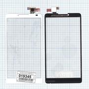 Сенсорное стекло (тачскрин) для Lenovo A880 белое, Диагональ 6 фото