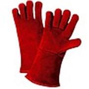 Перчатки сварщика спилковые фото
