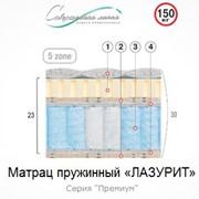Матрац пружинный Лазурит 1 м.кв фото