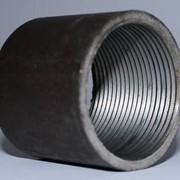 Муфта приварная (углеродистая сталь) фото