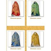 Облачение церковное: красное, зеленое, голубое, белое, золотое фото