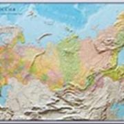 Рельефные карты России фото