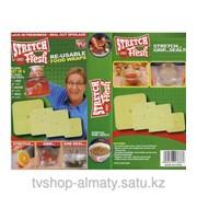 Набор крышек-пленок для упаковки продуктов stretch and fresh 4 предмета фото