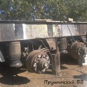 Ремонт прицепов и полуприцепов Реставрация осей СТ фото