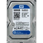 Накопитель HDD SATA 500GB WD Blue 7200rpm 32MB (WD5000AZLX) фото