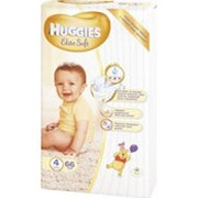 Подгузники HUGGIES Elite Soft 4 (8-14кг), 66шт фото