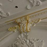 Оформление и реставрация скульптур, фасадных элементов, интерьера, нанесение позолоты фото