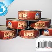 Консервы рыбные - Бычки обжаренные в томатном соусе фото