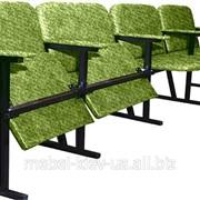 Кресло для актового зала, 4 местное, ткань фото