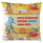 Напиток кисломолочный Полоцкий Ананас-манго фото