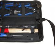 Набор инструментов 17 предметов в сумке на молнии. фото