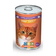 Корм консервированный для кошек, кролик фото