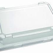 Крышка для контейнера,12х16х3, ПЭТ, CV-187815 фото