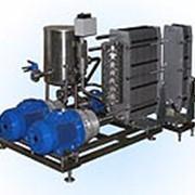 Установка для высокотемпературной пастеризации, стерилизации и охлаждения жидких пищевых продуктов с роторными нагревателями (стерилизатор) фото
