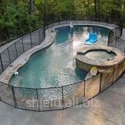Защитное ограждение для бассейна фото
